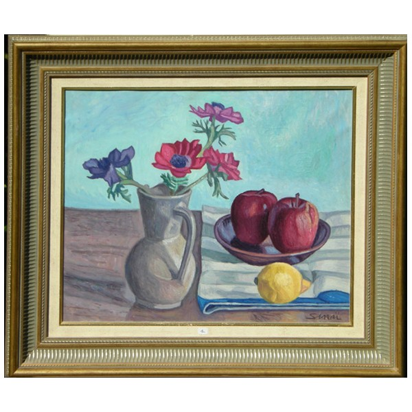 Galerie van ryck nature morte an mones dans p t et fruits - Image nature morte imprimer ...